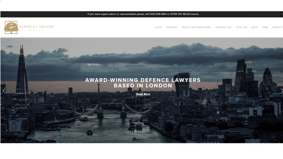 legal website design squarespace